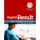 English Result Upper intermediate Student's book with DVD
