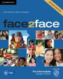 Face2face 2nd edition Pre-intermediate Student's Book with DVD-ROM