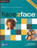 Face2face 2nd edition Intermediate Workbook without Key